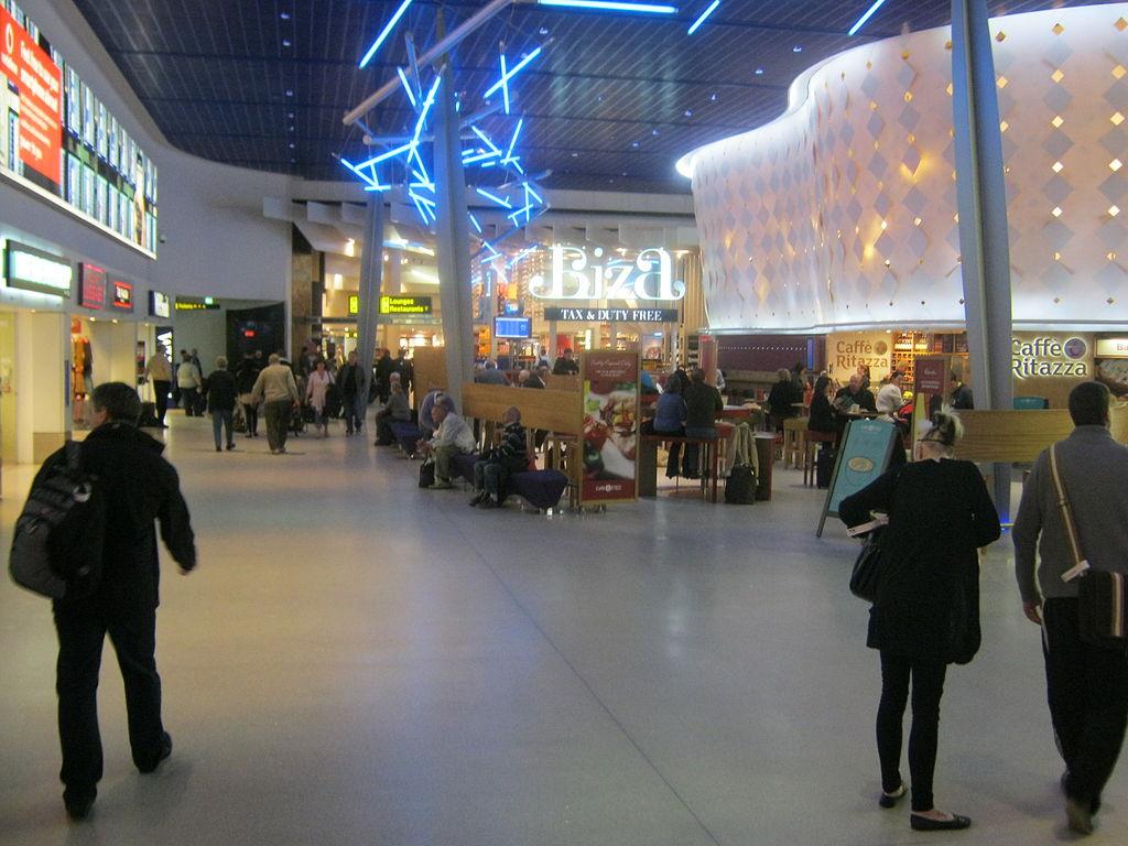 escorts at Manchester airport